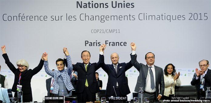 Acuerdo sobre Cambio Climático París 2015
