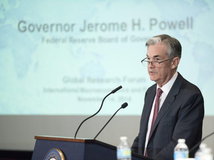 Jerome Powell, presidente de la FED