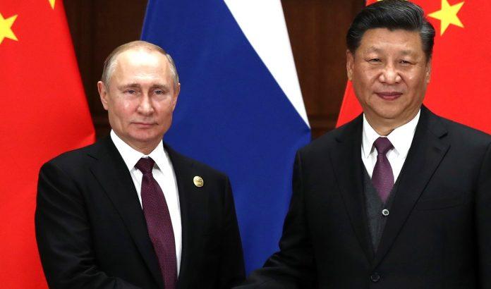 Putin y Xi Jinping, presidentes de Rusia y China, respectivamente
