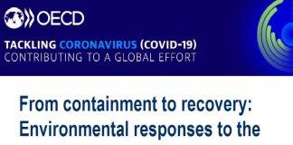 OCDE condiciona las ayudas tras coronavirus al compromiso medioambiental