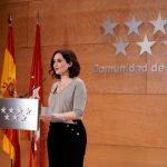 Isabel Diaz Ayuso Presidenta de la Comunidad de Madrid