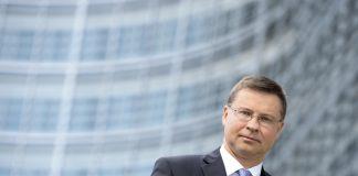 Valdis Dombrovskis, vicepresidente Ejecutivo de la Comisión Europea