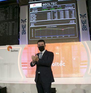 Soltec en su salida a Bolsa en 2020