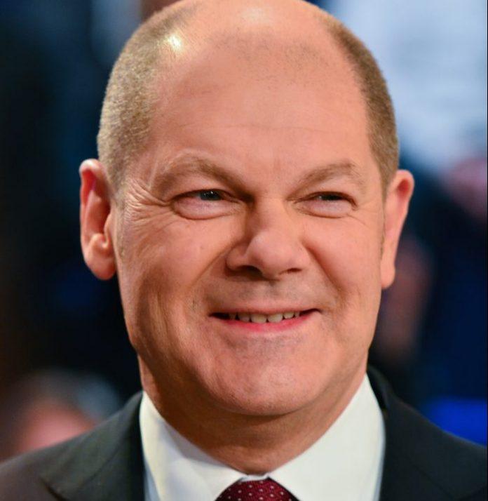 Olaf Scholz, ministro de Finanzas alemán