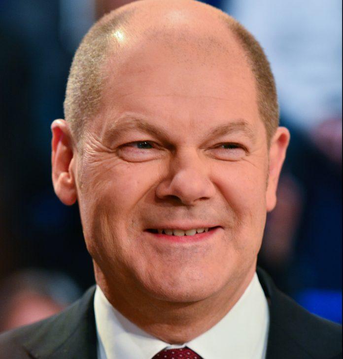 Olaf Scholz, candidato socialdemócrata en las elecciones alemanas